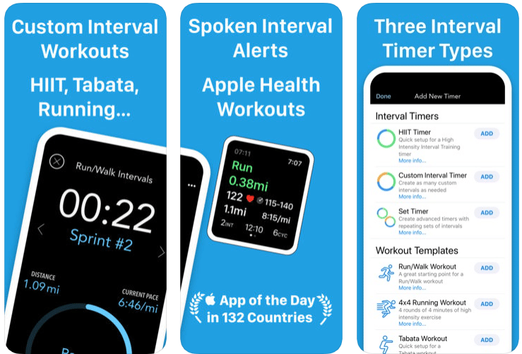 Intervals – Workout Interval Timer