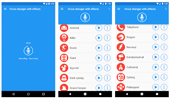 All the best voice changer apps (Android or iOS)