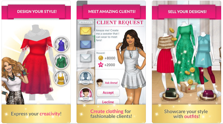 Top 10 Best Popular Online And Offline Fashion Games Apps For Android And Ipad
