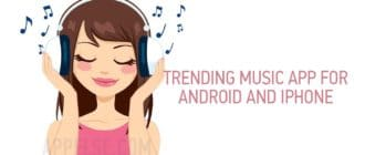 Trending music app for Android and iPhone