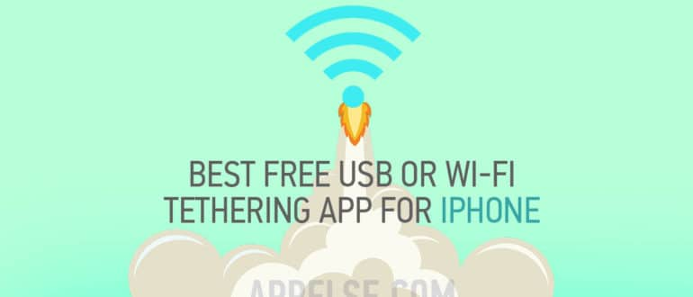 Best free usb or wifi tethering app for iphone