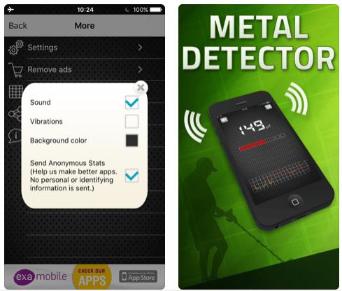 Metal Detector EMF