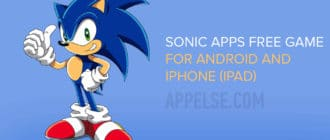 Sonic apps for free runners adventure for Android and iPhone (iPad)