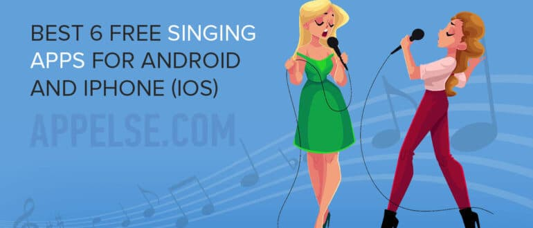 Best 6 free singing apps for Android and iPhone (iOS)