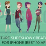 Picture slideshow creator app for iPhone (Best 10 apps)