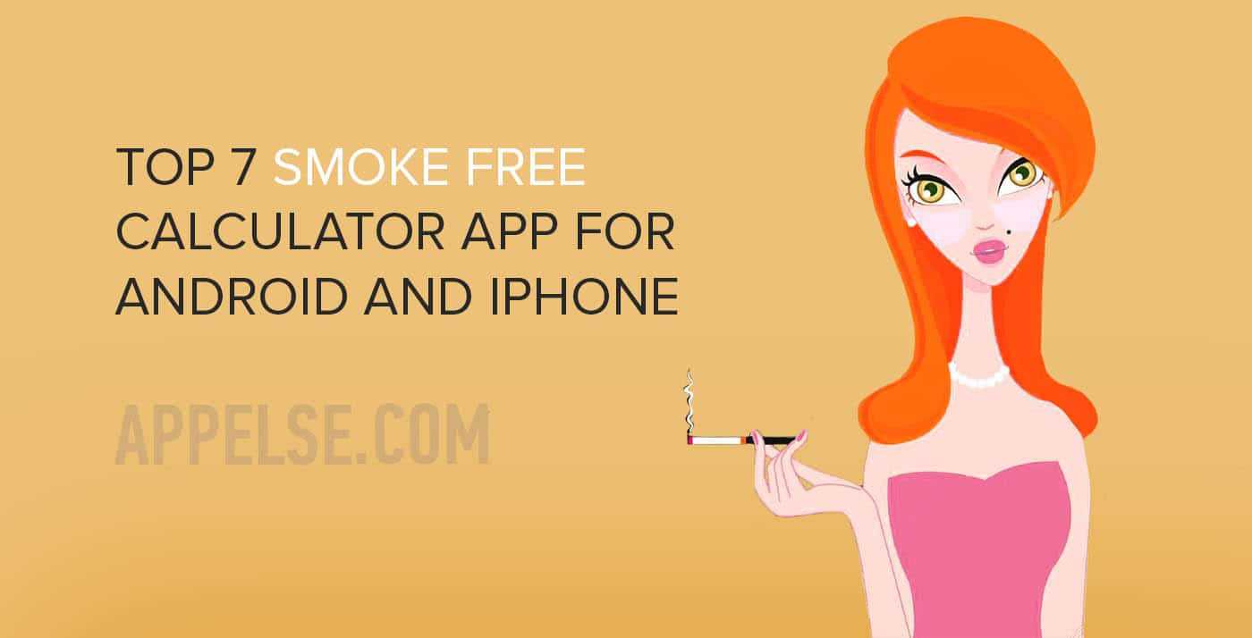 Top 7 smoke free calculator app for Android and iPhone 2