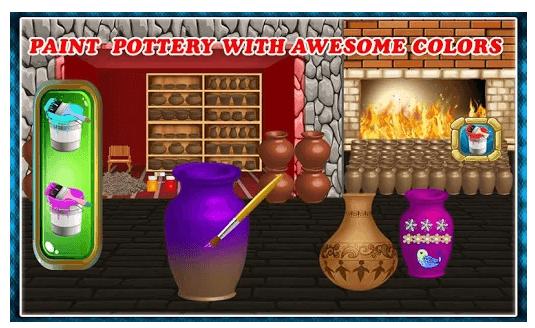Pottery Making Ceramic Builder: Sculpt Paint Vase