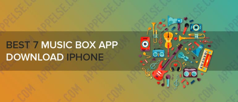 Best 7 music box app download iphone