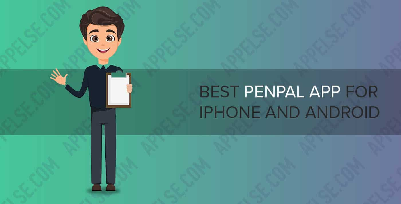 Best penpal app for iPhone and Android