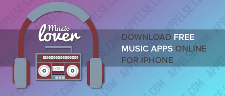 Download free music apps online for iPhone