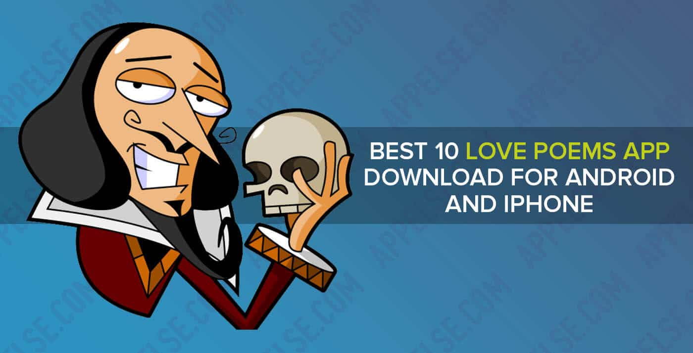 Best 10 love poems app download for Android and iPhone