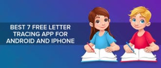 Best 7 free letter tracing app for Android and iPhone