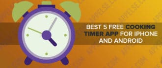 Best 5 free cooking (food) timer app for iPhone and Android